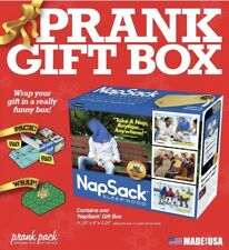 Brandnew Gift Box Prank Pack Nap Sack Wrap And Prank Someone!! 11.25 x 3.25