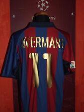 OVERMARS BARCELONA 2001/2002 MAGLIA SHIRT CALCIO FOOTBALL MAILLOT JERSEY SOCCER