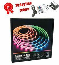 LED Strip Lights 16.4ft Waterproof RGB Led Room LED 5050 SMD Tape Color Changing