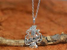 Cute #1 MOM Pendant Necklace- Sterling Silver-Mom Pendant,Mom Necklace,Gift Idea