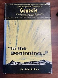 A Verse-by-Verse Commentary: Genesis, John R. Rice, 1975
