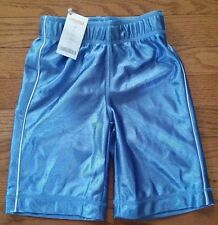 NEW Gymboree Athletic Carolina Blue Shorts Boys Size 4