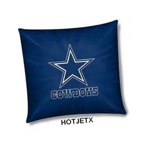 DALLAS COWBOYS PILLOW OFFICIAL TOSS NFL FOOTBALL BED SHEET SOFA SUPERBOWL HD TV