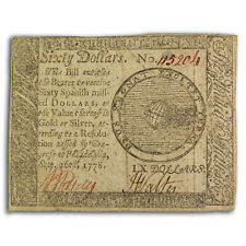 1778 $60 Continental Currency 9/26/78 Vf - Sku#224719