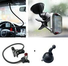Universal 2 in 1 Lazy Bed Desktop Car Mount Cell Phone Holder iPhone Galaxy PSP