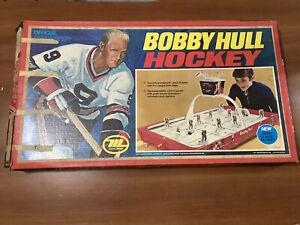 VINTAGE BOBBY HULL TABLE HOCKEY GAME NHL