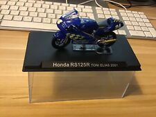 Honda RS125R Toni Elias 2001 And Honda RC211V Daijiro Kato 2003 Altaya 1/24