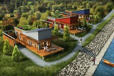 SHELL HOME PACKAGE 1BR 1BA 560SF BETHANY MODERN MODULAR HOUSES