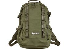 Supreme Backpack FW20 Olive- DS - 100% Authentic -  New In Plastic