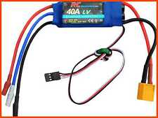 40A RC Brushless Motor Electric Speed Controller ESC 3A UBEC W XT60 & 3.5Mm Bull