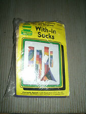 New listing Pineapple Appeal With-In Socks Rainbow Windsock Sewing Kit 1985