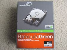 "Seagate Barracuda Green 2TB 5900 RPM 64MB Cache SATA 3.0Gb/s 3.5"" Internal Hard"