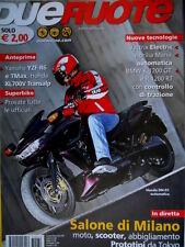 Dueruote 32 2007 Anteprima Yamaha YZF R6 e Tmax. Honda DN-01 automatica [Q72]