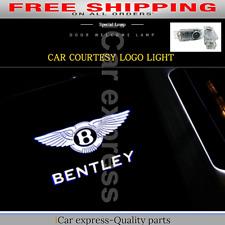 Door Led Projector Lights for Bentley Shadow Logo Laser Ghost Welcome Lamp Light