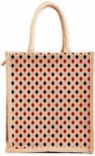 Unisex Jute Beige Multipurpose Tote Bag (Free shipping world)