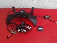 Honda NC750X Lock Set CDI ECU ignition 2 touches Siège Hiss 2014 testé Manuel 8k