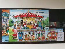 St Vincent 1988 Christmas 'Mickey's Christmas Train'  set of 8 and 2MS, MNH