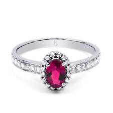 Gioielli di lusso rosa in oro bianco 18 carati