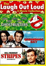 NEW DVD - GHOSTBUSTERS + GROUNDHOG DAY + STRIPES // BILL MURRAY