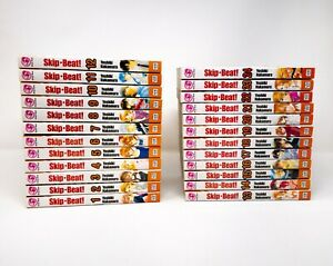 Skip Beat - Volumes 1-24 - English Manga Lot (Viz, Yoshiki Nakamura) Skip Beat!