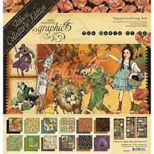"Graphic 45 Deluxe Collector's Edition 12""x12"" Papers Pack - Magic of Oz G4501899"