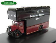Oxford Diecast N Gauge NBP004 Bedford Pantechnicon Van - LMS 1 148