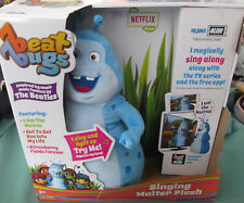 "Beat Bugs 12"" SINGING WALTER PLUSH Lights Up & Sings Along to Show & Netflix Toy"