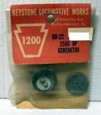 Keystone Locomotive Works~HO-22~2500 HP Generator~Scenery Detail~MIB,OOP