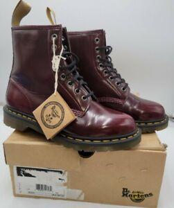 Doc Martens 1460 Vegan Leather Boots Cherry Women 8, Men 9