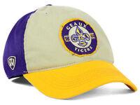 LSU Tigers NCAA Top of the World Stone Purple Gold Flex fit Hat Cap M/L