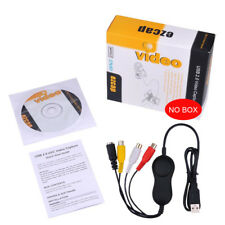 USB 2.0 UVC Analog AV S-video Video Capture Grabber For Windows Mac Linux Win10