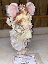 "Seraphim Classics Angel Chloe ""Nature'S Gift"" 1997 Limited Edition - 12"" Tall"