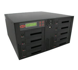 SySTOR 1-8 SATA Rackmount Hard Drive HDD/SSD Duplicator/Wiper - Up to 300MB/s