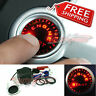 Push Start Button Kit, Ignition Engine Starter UNIVERSAL - Luminous RED LEDs