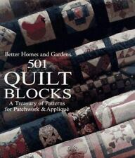 Better Homes and Gardens 501 Quilt Blocks: A Treasury of Patterns for Patchwork