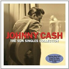 Sun Singles Collection - Johnny Cash (2014, CD NIEUW)2 DISC SET