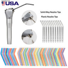 Dental Triple Way Syringe Air Water Spray Handpieceampdisposable Nozzles Tips Tube