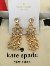 Kate Spade 💯%Authentic Subtle Sparkle Crystal Drop Earrings NWT