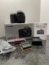 Canon EOS 5D Mark IV camera body, low shutter count - almost 13K