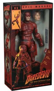 Marvel Comics Classic Daredevil Man Without Fear 1/4 Scale action figure NECA