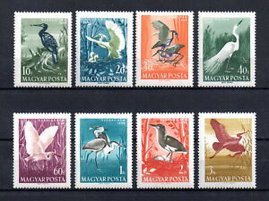 Hungary  Stamps 1959 birds  Set  CPL  MNH Very Fine
