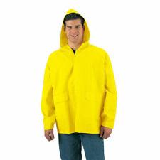 Cappotti e giacche da uomo impermeabile con cappuccio gialli