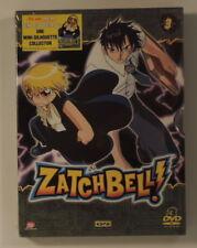 manga Zatchbell coffret DVD 3 episodes 25 a 36
