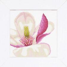 Lanarte - Counted Cross Stitch Kit - Magnolia Flower - PN-0008305