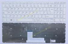 UK White Keyboard for Toshiba Satellite L50-B L50-B-13E Series Laptop