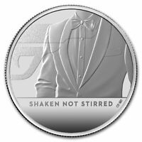 2020 Great Britain 1 oz Proof Silver James Bond Coin #2 SKU#217376