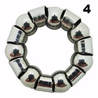 Bicycle 1/4 inch x 7 Hub Ball Bearings With Retainer (Pack of 4)