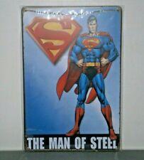 DCS1 SUPERMAN DC Comics  Metal Sign New 30cm H X 20cm W