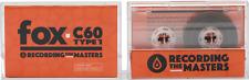 Fox C60 Type 1 blank cassette - Brand New - Factory Authorized Reseller - 60mins