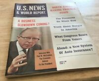US News & World Report-A Business Slowdown Coming/ North Korea Making Trouble